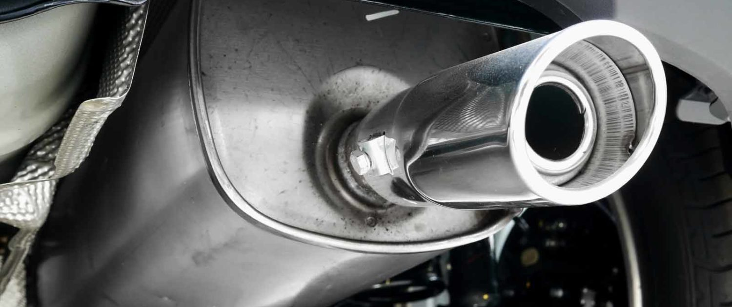 Car exhaust repair